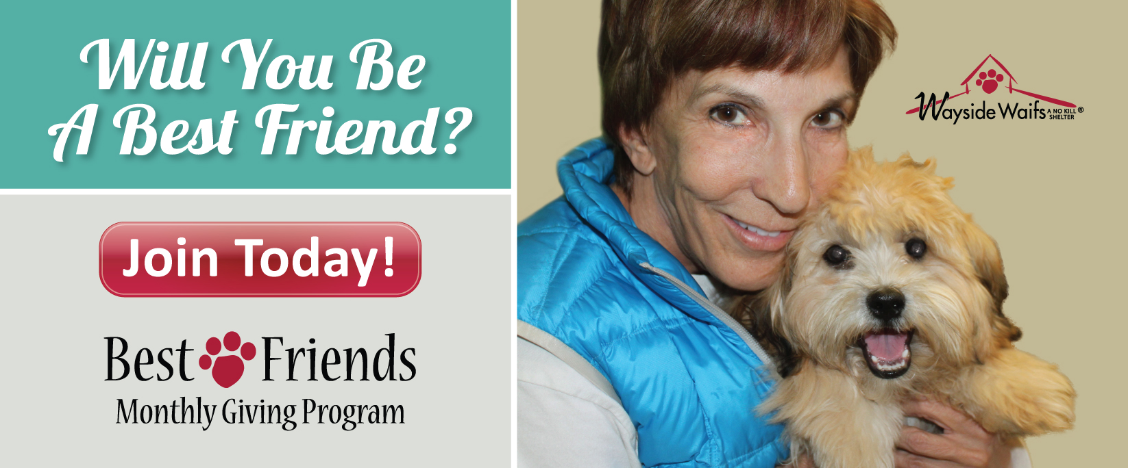 Become a monthly best friend today!