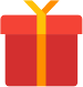 Gift/Present - Holiday Season Fundraiser Icon