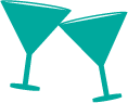 Martini Glasses - Special Occasion Fundraiser Icon